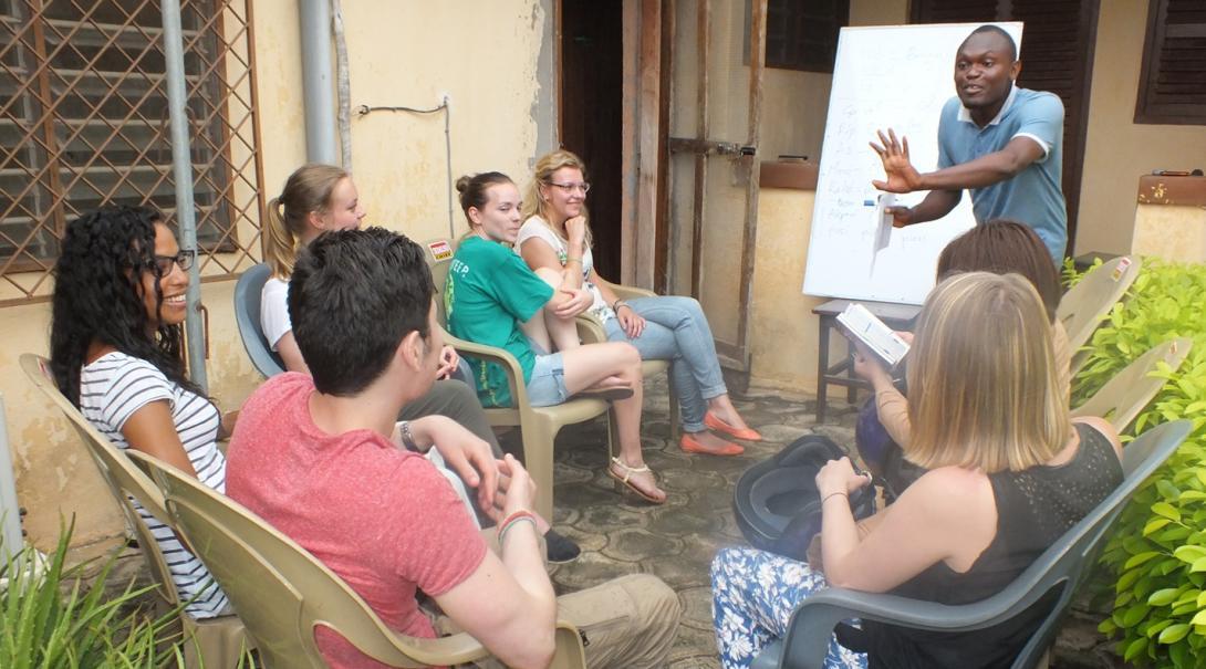 語学留学生の交流会